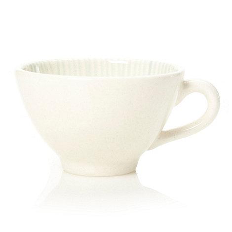 RJR.John Rocha - Cream +Brushstroke+ tea cup