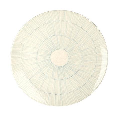 RJR.John Rocha - Cream +Brushstroke+ charger plate