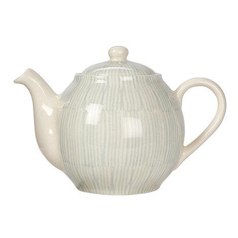 RJR.John Rocha - Cream +Brushstroke+ teapot