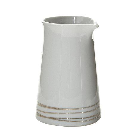RJR.John Rocha - Designer porcelain silver etched creamer