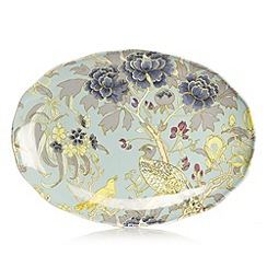 Butterfly Home by Matthew Williamson - Designer fine china peacock sandwich plate