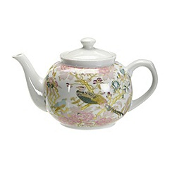Butterfly Home by Matthew Williamson - Designer porcelain peacock teapot
