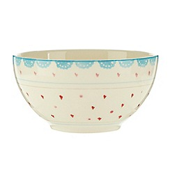 At home with Ashley Thomas - Earthenware 'Folklore' cereal bowl