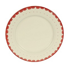 At home with Ashley Thomas - Earthenware 'Folklore' dinner plate