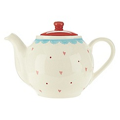 At home with Ashley Thomas - Earthenware 'Folklore' teapot
