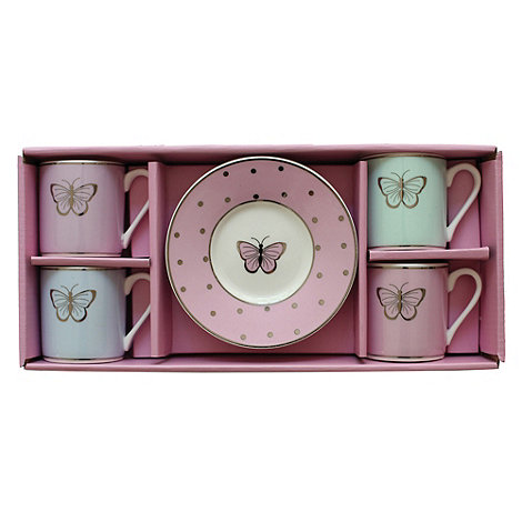 Bombay Duck - Set of Four +Miss Darcy+ Espresso Cups