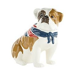 Ben de Lisi Home - Designer ceramic 'Union Jack' dog money box