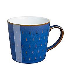 Denby - Imperial blue cascade mug