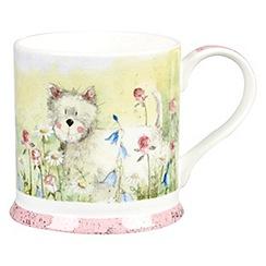 Queens - White 'Westie' mug