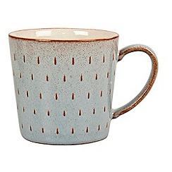 Denby - Pale blue 'Pavillion' cascade mug