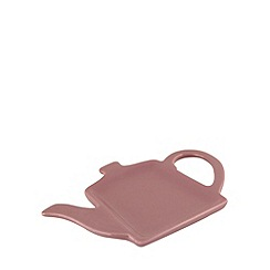 At home with Ashley Thomas - Stoneware teapot teabag holder