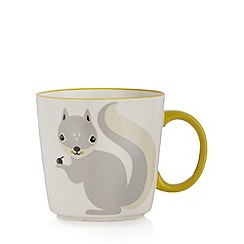 Debenhams - Yellow squirrel mug