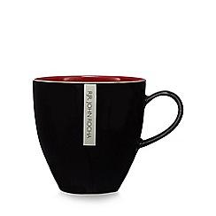 RJR.John Rocha - Red glazed 'Pico' mug