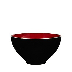 RJR.John Rocha - Red glazed 'Pico' cereal bowl