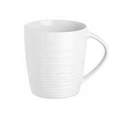 RJR.John Rocha - White 'Etch' mug