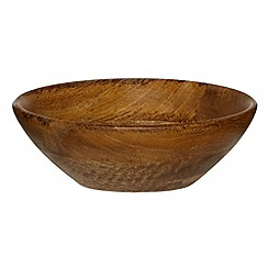 RJR.John Rocha - Designer mango wood small bowl