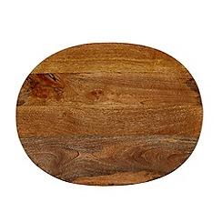 RJR.John Rocha - Designer mango wood serving platter