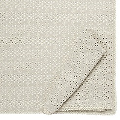 RJR.John Rocha - Designer set of two cream broderie napkins