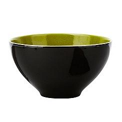 RJR.John Rocha - Green 'Pico' cereal bowl