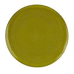 RJR.John Rocha - Green 'Pico' dinner plate