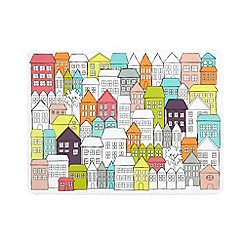 Ben de Lisi Home - Designer set of four house print mats
