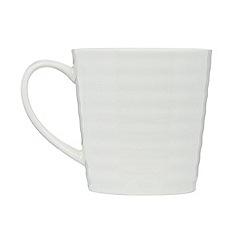 J by Jasper Conran - Designer porcelain 'Ripley' mug