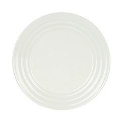J by Jasper Conran - Designer porcelain 'Ripley' dinner plate