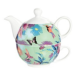 Butterfly Home by Matthew Williamson - Designer porcelain hummingbird tea for one set