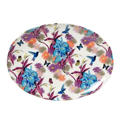 Butterfly Home by Matthew Williamson Designer fine china hummingbird sandwich plate - . -
