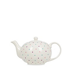 At home with Ashley Thomas - Spotted teapot