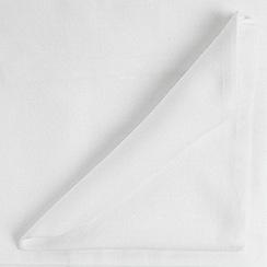 Home Collection Basics - White medium rectangular tablecloth