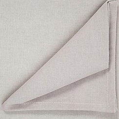 Home Collection Basics - Taupe medium rectangular tablecloth