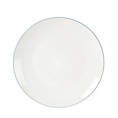 Home Collection Basics - Blue 'Two Tone' set of 4 dinner plates