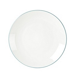 Home Collection Basics - Blue 'Two Tone' set of 4 dessert plates