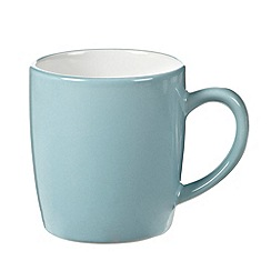 Home Collection Basics - Blue 'Two Tone' set of 4 mugs