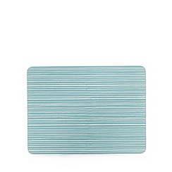 Home Collection Basics - Pack of four blue striped placemats