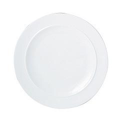 Denby - White dinner plate