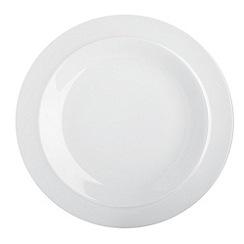 Denby - Dendy White dessert plate