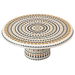 Denby - Fine china 'Monsoon Jerez' cake plate