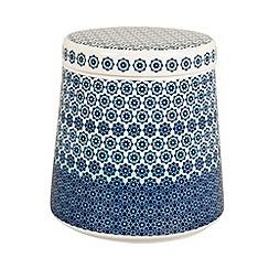 Denby - Fine china 'Monsoon Granada' storage jar