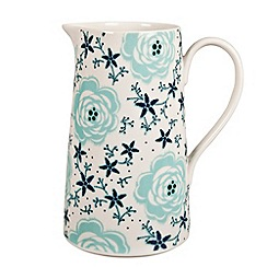 Denby - Fine china 'Monsoon Antalya' pitcher