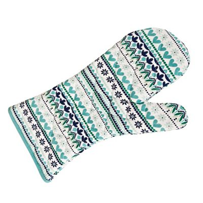 Denby aqua ´Monsoon Antalya´ single oven glove - . -