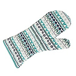 Denby - Aqua 'Monsoon Antalya' single oven glove