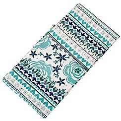Denby - Set of three cotton 'Monsoon Antalya' tea towels