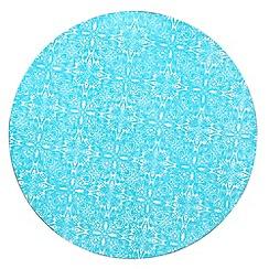 Denby - Set of four turquoise 'Monsoon Cadiz' place mats