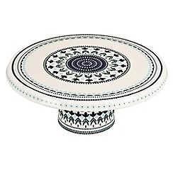 Denby - Fine china 'Monsoon Antalya' pedestal cake stand