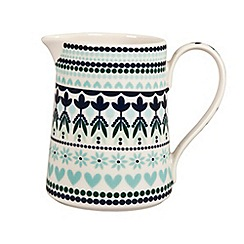 Denby - Fine china 'Monsoon Tangier' small jug