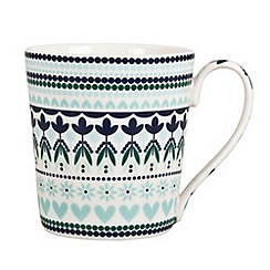 Denby - Fine china 'Monsoon Tangier' mug