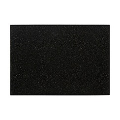 Creative Tops - Set of four black polished granite coasters