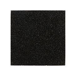 Creative Tops - Set of two black polished granite placemats